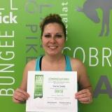 Carrie Smith, Studio 6 Fitness Century Club Member