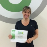 Sherry Lofman, Studio 6 Fitness Century Club Member