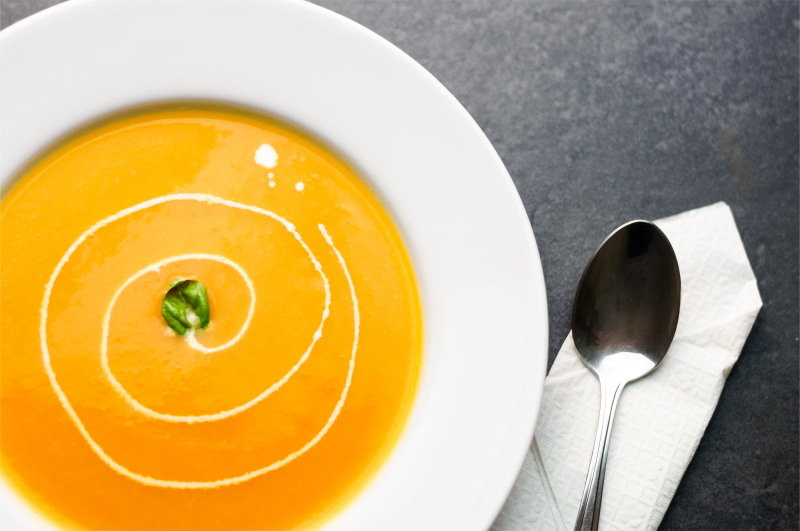 Warming Butternut Squash Soup