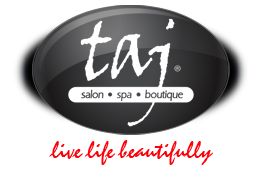 taj salon & spa logo