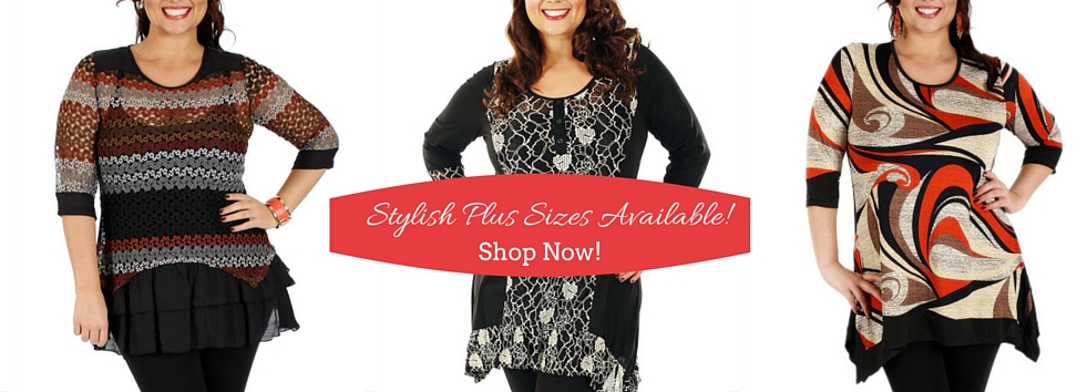 Stylish Plus Sizes Available Now