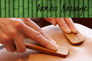 Bamboo Massage at The Muscle Therapy Center