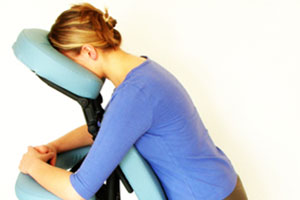 On-Site Corporate Chair Massage at The Muscle Therapy Center