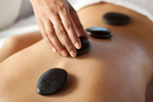 Hot Stone Massage at The Muscle Therapy Center