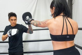 Boxing Classes at The Sweat Science