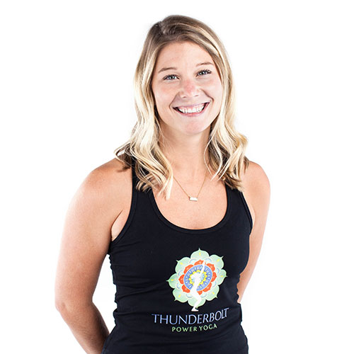 Alana Buffington from Thunderbolt Power Yoga