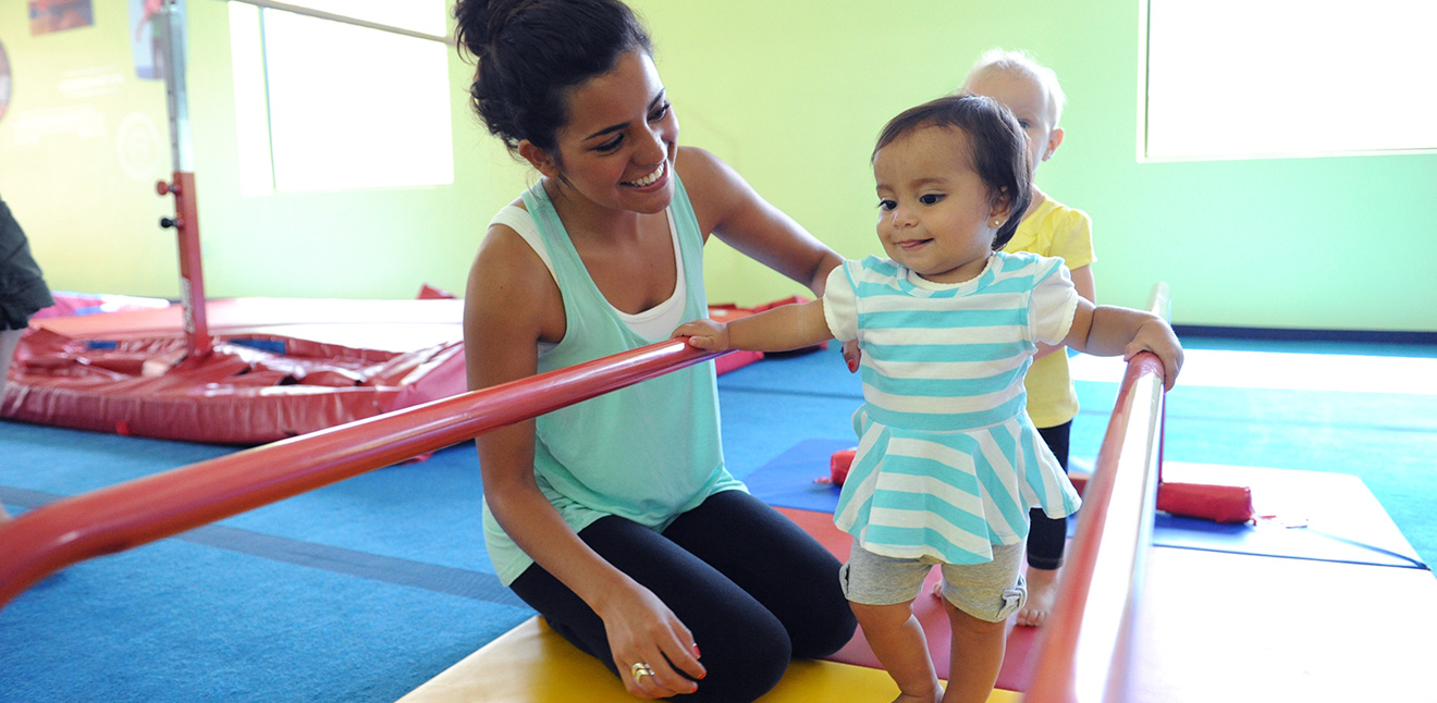 Parent & Child in a Class at The Little Gym Amsterdam