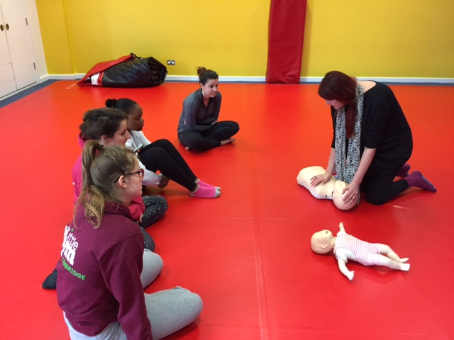 First Aid at The Little Gym Cambridge