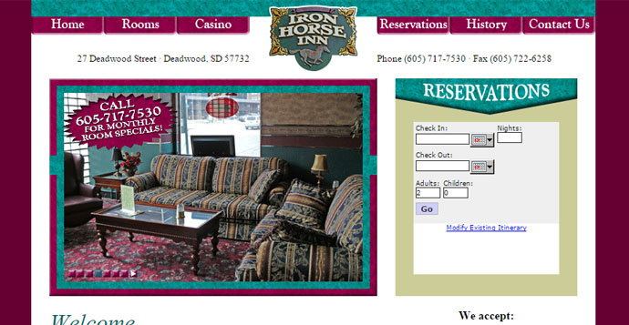 Iron Horse inn Add