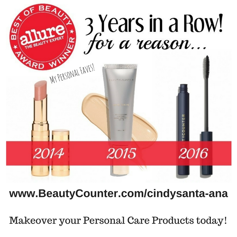 Allure Beautycounter award winners