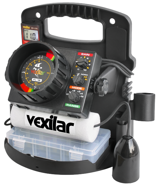 Vexilar simply the best in marine electronics for Ice fishing depth finder