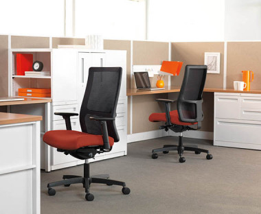 Office chairs at Victor Lundeen