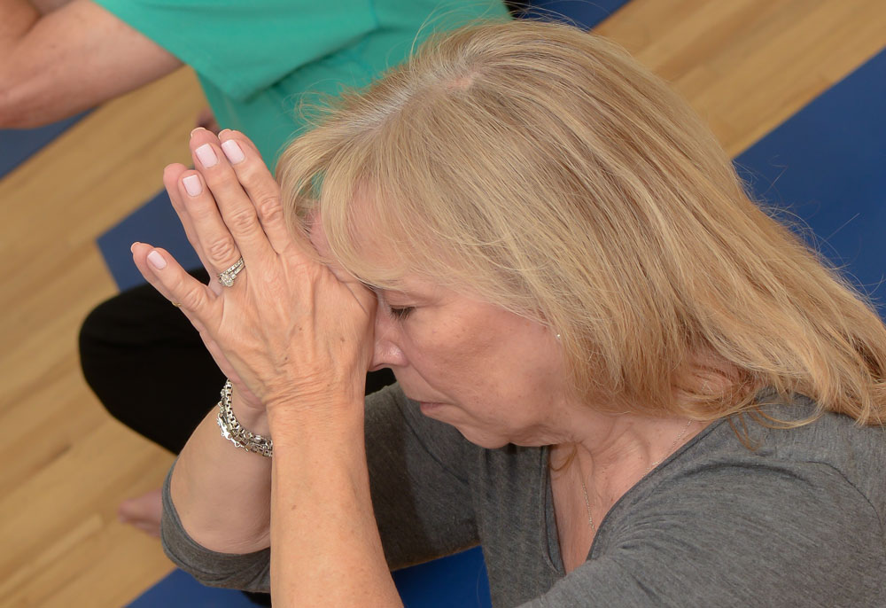 Senior Yoga Class at Warrior&Co. A Yoga Studio in Woodland Hills, CA