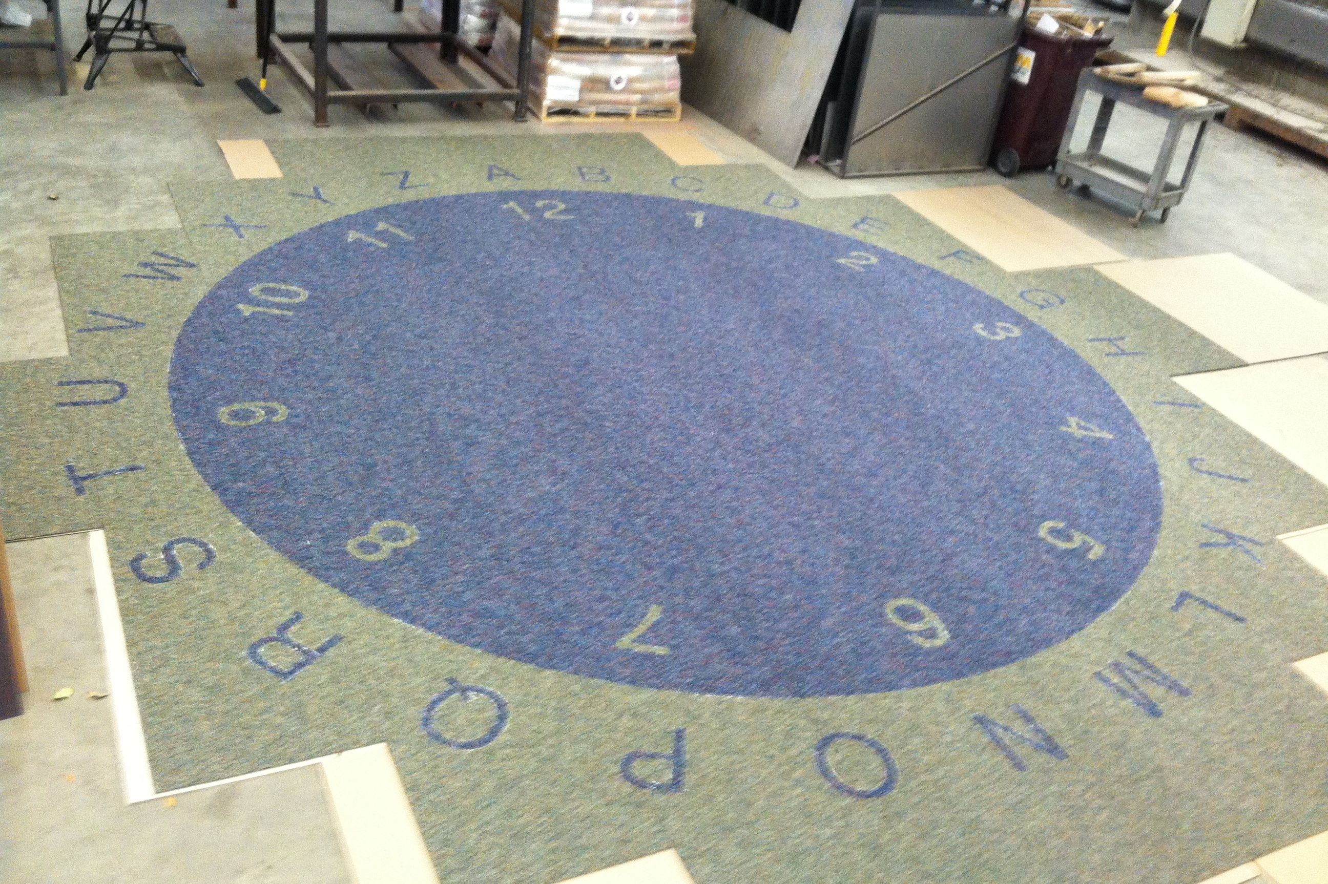 Carpet for an elementary school