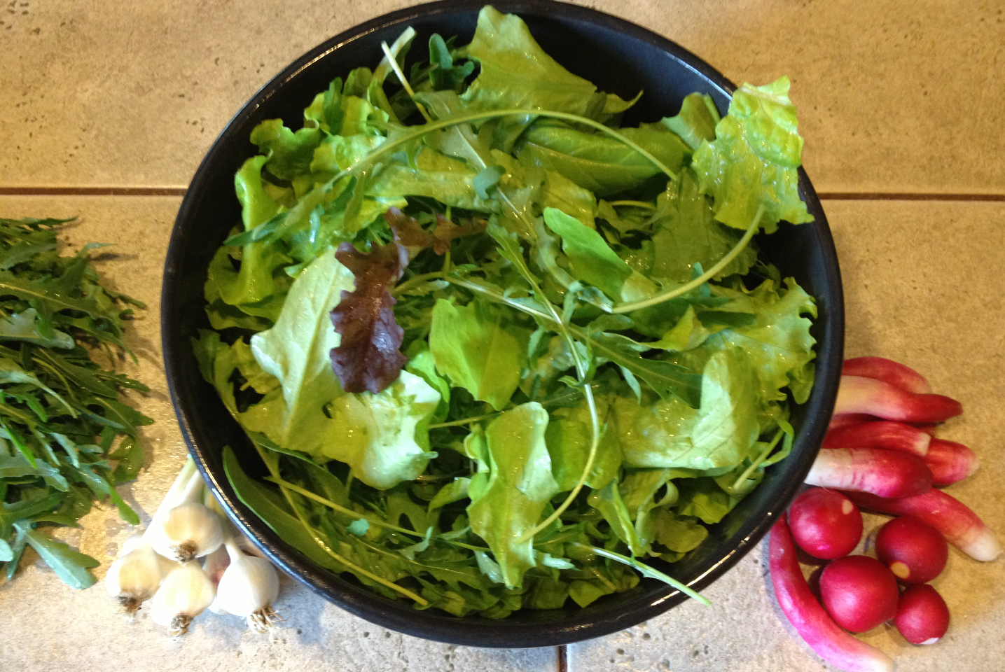 Wendy's Salad - Narrow