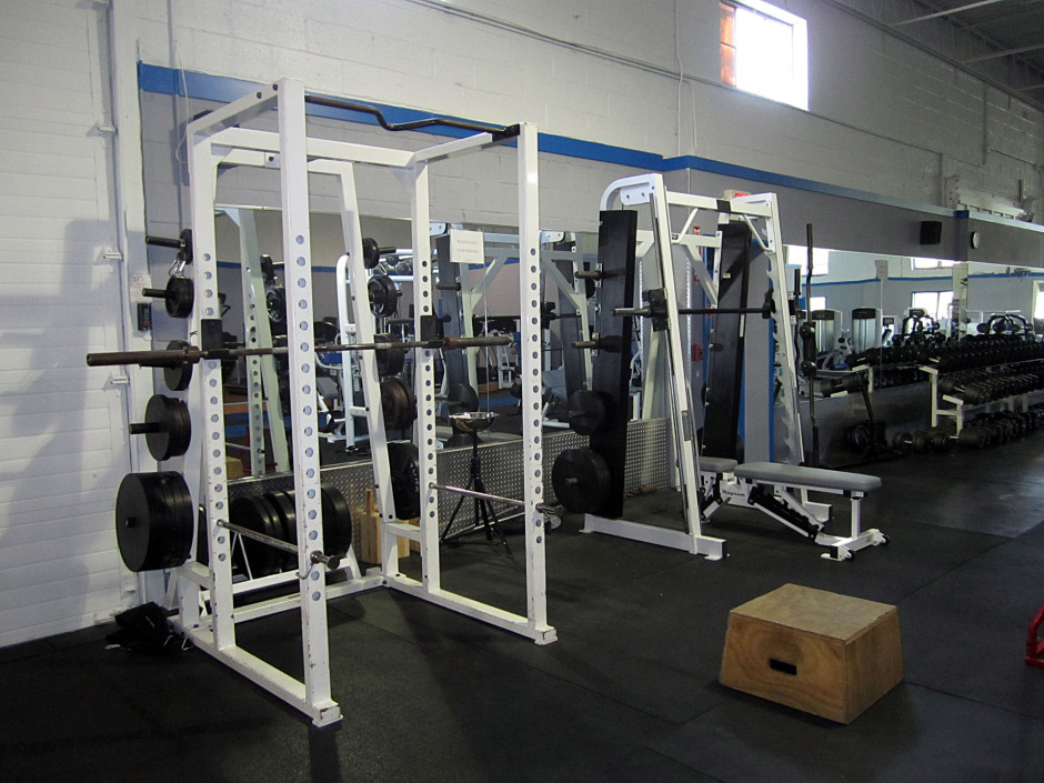 Squat Rack_Smith Machine