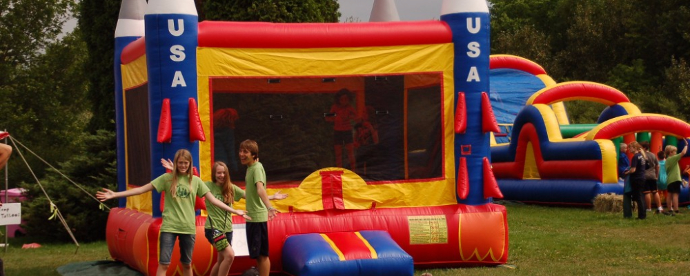 Bouncy Houses at WCMF_copy
