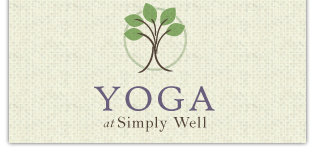 Yoga at Simply Well Logo