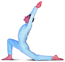 OM Stretch Pose