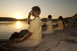 Setting a sankalpa - sunrise meditation
