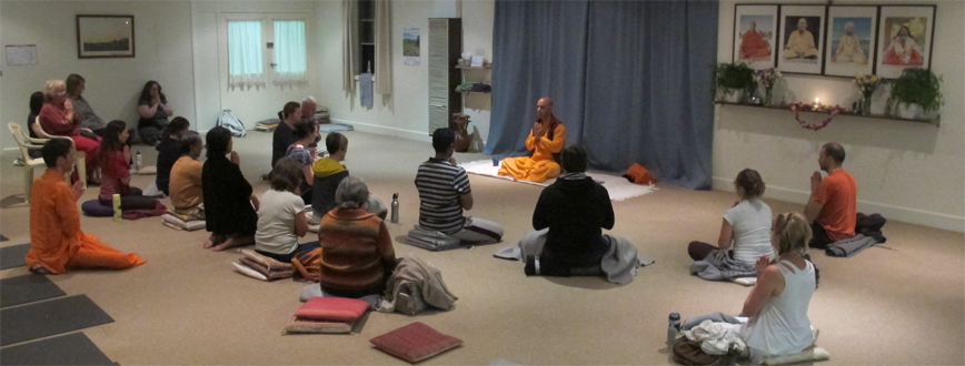 Meditation & Philosophy Intensive with Swami Jasraj Puri