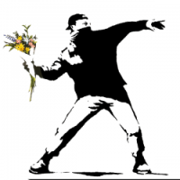 banksy-flower-thrower-