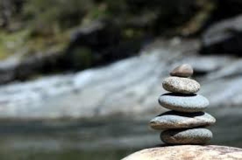 balance in life image