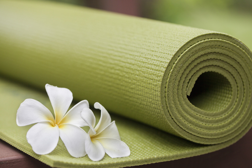 Get on the Mat At Yoga To Go Studio