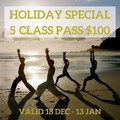 Holiday 5 class pass