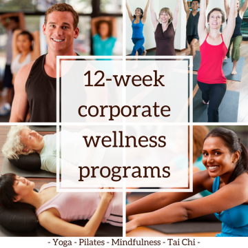 corporate wellness program at Yoga To Go Studio